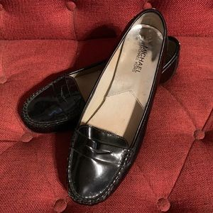 Michael Kors Black Patent Leather Flats